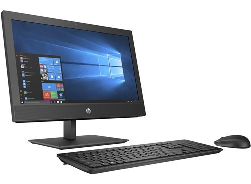 "HP 400 G4 AIO I3-8100T Desktop PC PLUS HP CURVED MICROEDGE 27"" MONITOR FOR $199 (Y6J31AA)"