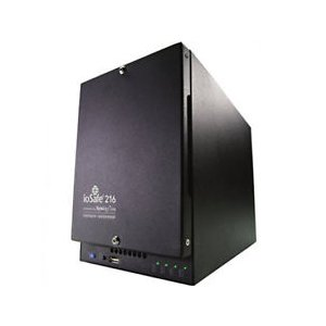 Iosafe 218-6tb1yr Aus 218 6tb (3tbx2)  Nas - Two Bay Fireproof/waterproof Nas Device With Raid 1, Powered By Synology