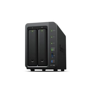 Iosafe 218 Diskless-aus 218 Diskless Nas - Two Bay Fireproof/waterproof Nas Device With Raid 1, Powered By Synology