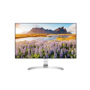 "LG 27MP89HM-S 27"""" sRGB Over 99% Colour Calibrated Borderless IP Monitor"