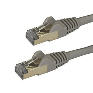 Startech 6aspat2mgr 2m Gray Cat6a Ethernet Cable - Stp