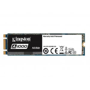 Kingston 960GB SSDNOW A1000 M.2 2280 NVMe SA1000M8/960G