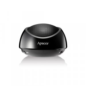 Apacer Bluetooth Speaker WS211 Black Retail Pack with Carry Case
