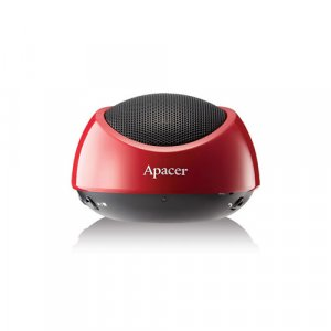 Apacer Bluetooth Speaker WS211 Red Retail Pack with Carry Case