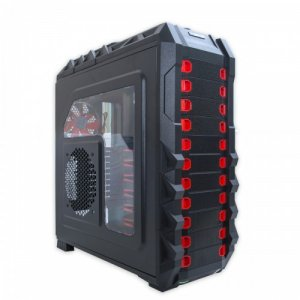 CASECOM HALCONES CL-86 FULL TOWER GAMING COMPUTER PC CASE