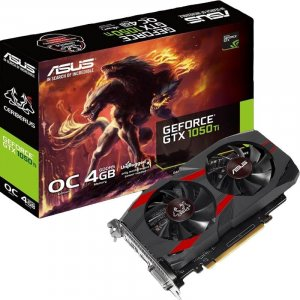 ASUS Cerberus GeForce GTX 1050 Ti OC Edition 4GB Video Card