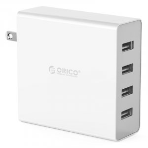 Orico ORC-DCW-4U-WH White DCW-4U 4 Port USB Wall Charger
