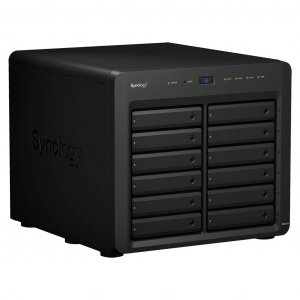 Synology DiskStation DS2415+ Diskless 12 Bay NAS - Intel Atom Quad Core 2.4 GHz