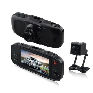 Digitalk Dual Camera In-Car Digital Video Recorder (DVR)