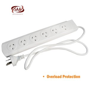 6 Way Powerboard Overload Protection