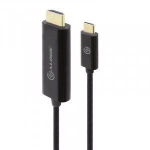 Alogic Elements 1m USB Type-C to HDMI Cable with 4K Support - Retail Packaging