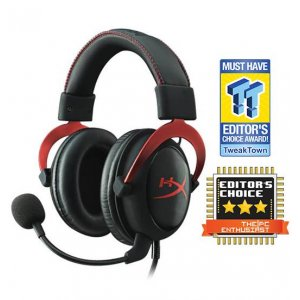 Kingston Hyperx Cloud Ii Black/red 7.1 Surround Sound Gaming Headset (khx-hscp-rd)
