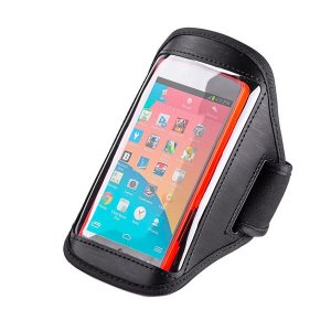 EZcool Gym Running Sport Armband for Universal Mobile Phone Black
