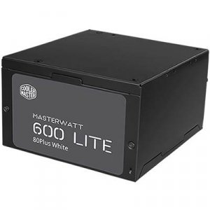 Cooler Master MasterWatt Lite 600W 80 Plus Power Supply Unit PSU