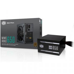 Cooler Master MWE Bronze 650W 80+ Bronze MPX-6501-ACAAB-AU Power Supply PSU