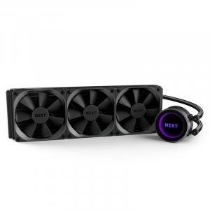 NZXT Kraken X72 360mm AIO Liquid CPU Cooler RL-KRX72-01