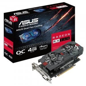 ASUS AMD Radeon RX560 O4G Evo 4GB Video Card