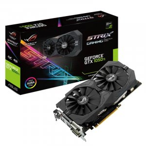 ASUS GeForce GTX 1050 Ti ROG Strix OC 4GB 4GB OC Gaming Edition Video Card