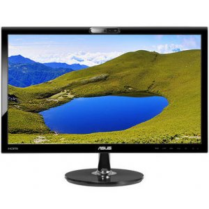 "ASUS VK228H 21.5"" Full HD LED Monitor with Webcam"