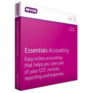 MYOB Essentials Accounting with Payroll Online User - 3 months Subscription