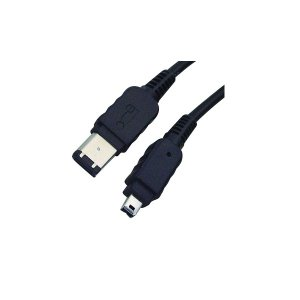 WW 2m 6Pin To 4Pin IEEE1394 FireWire Data Cable