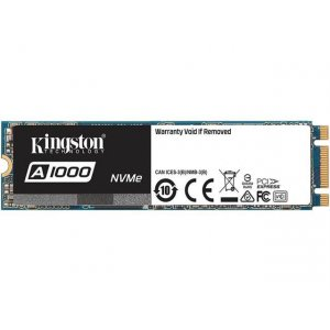 Kingston A1000 240GB M.2 2280 PCIe NVMe Gen3x2 SSD SA1000M8/240G